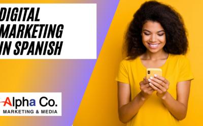 Digital marketing in Spanish